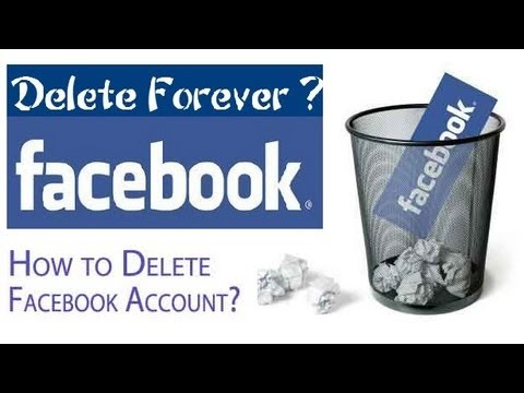 how to delete facebook account 2014 -how to permanently delete facebook account