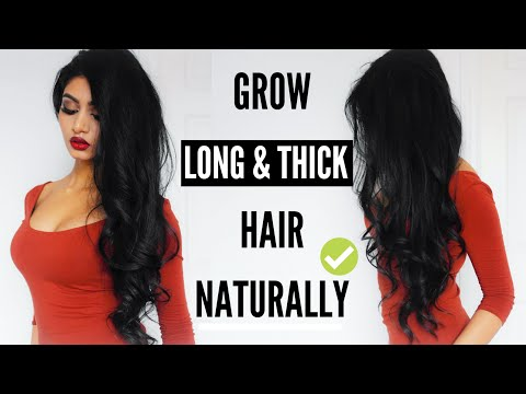 How I Grew My Hair Long & Thick NATURALLY in A Month | Lavish Krish