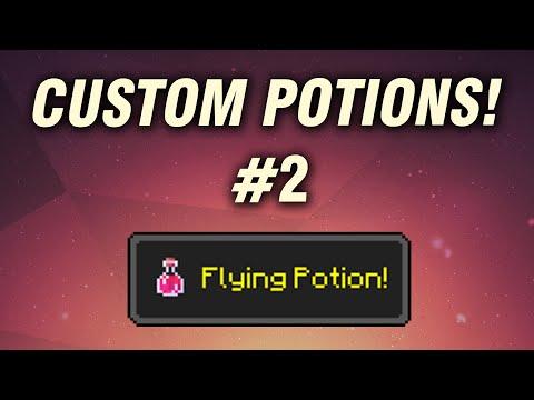 Custom Potions #2 - Flying Potion!