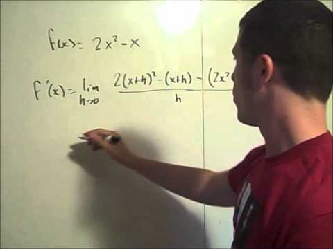 Derivative by definition