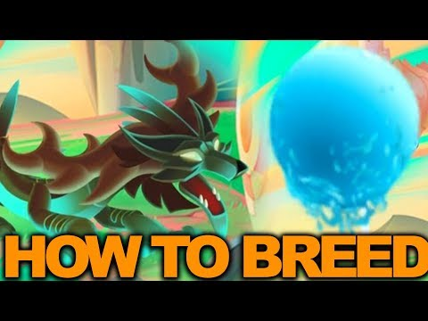 Dragon City - How to breed New Secret Swamp & Tsunami dragons