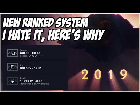 NEW RANKED REWORK. I HATE IT, HERE'S WHY | League of Legends
