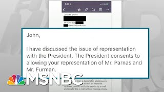 Shocking New Evidence Released In Trump Impeachment Case - Day That Was   MSNBC