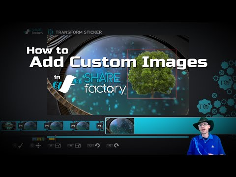 How to Add Custom Images into SHAREfactory™ Projects (PS4)
