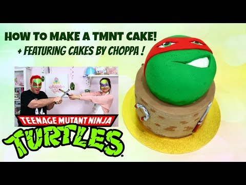 How to Make a Teenage Mutant Ninja Turtle Cake! Featuring Cakes By ChoppA