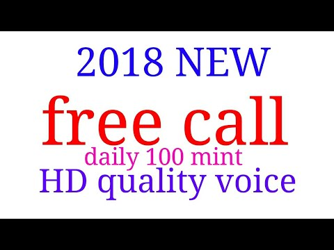 2018 new FREE CALL 100 mint HD voice quality