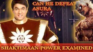 Shaktimaan Power Explained   Can Shaktimaan Defeat Asura and Superman