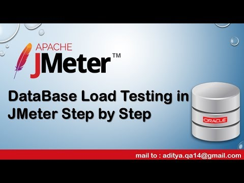 How to perform Database Load test using JMeter Step by Step