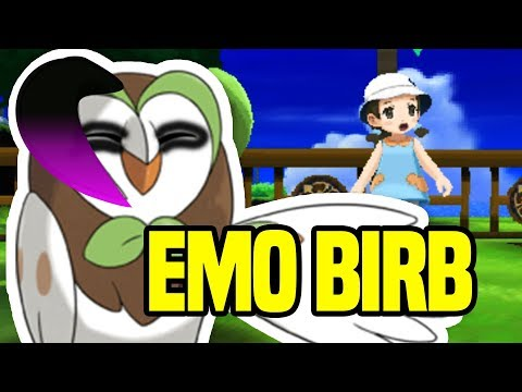 Left Pokeball Event | Emo Dartrix | Pokemon Ultra Sun and Moon Side Quest | Easter Egg