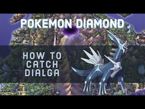 Pokemon Diamond - How to Catch Dialga - Spear Pillar