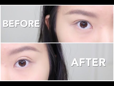 HOW TO: Even/Double Eyelids - Naturally | How I