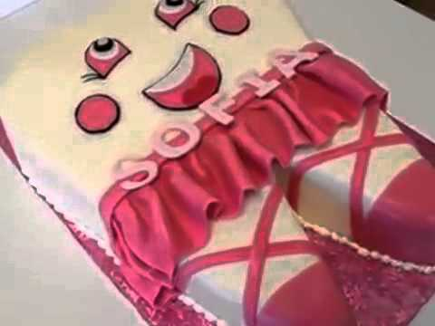 How to make cake Tooth shape cake for Baby Girl