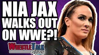 Nia Jax WALKS OUT Of WWE Raw?!   WrestleTalk News Oct. 2017