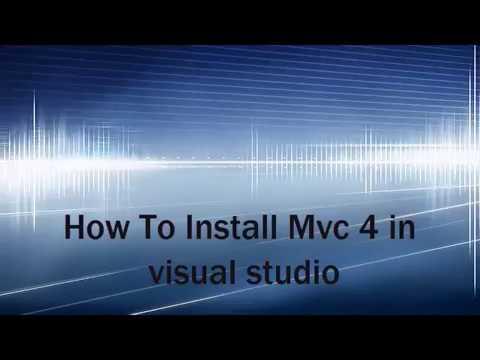 installimg MVC 4 in visual studio