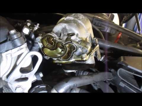 e90 oil housing gasket replacement