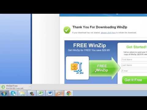 How to Open Zip Files with WinZip