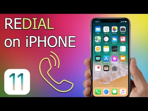 How to Redial on iPhone (iOS 11)