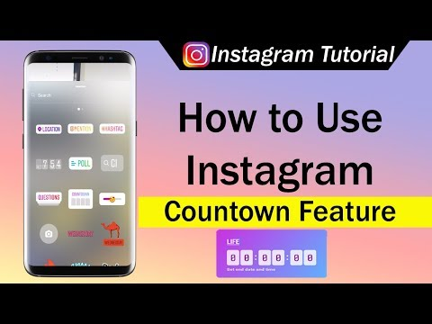 How To Use Instagram Countdown New Feature