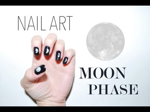 Nail Art | Moon Phase┆Alyssia〖French with English Subtitles〗