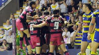 Warrington Wolves v Leeds Rhinos Play offs 2011
