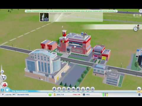 SimCity sandbox ep 1(no commentary).