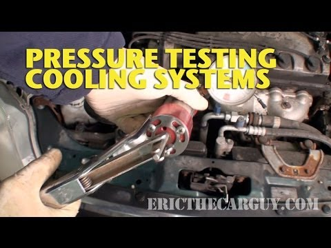Pressure Testing Cooling Systems -EricTheCarGuy