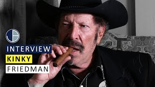 """Kinky Friedman: """"I want to see a Jew in the White House"""""""