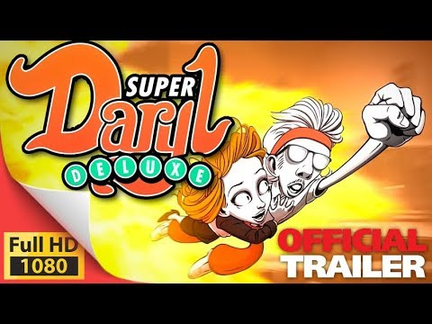 Super Daryl Deluxe RPG + Brawler combat comic game - PC PS4 Switch