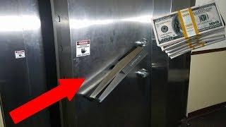Found Money Exploring Abandoned Bank! (money Vault)