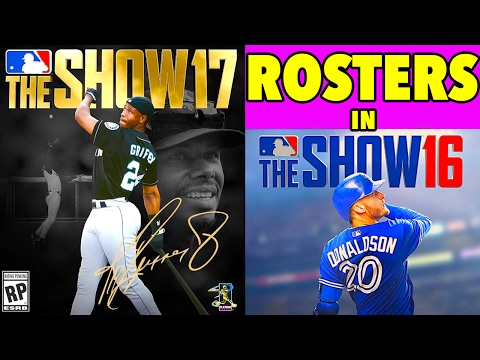 How to GET MLB 17 The Show Rosters in MLB 16 The Show!