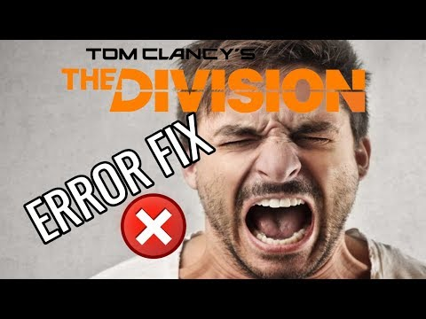 How To Fix Tom Clancy The Division Error Code Delta In 30 Seconds