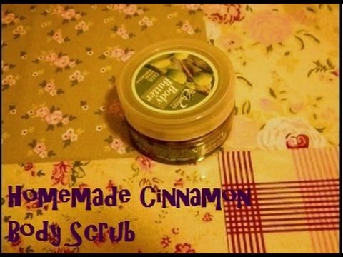 DIY - Cinnamon Body Scrub - 2 ingredients - Vegan cosmetics