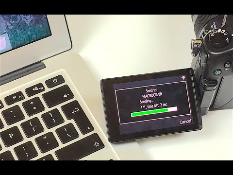 Transfer Files from GH4 to MacBook Wirelessly