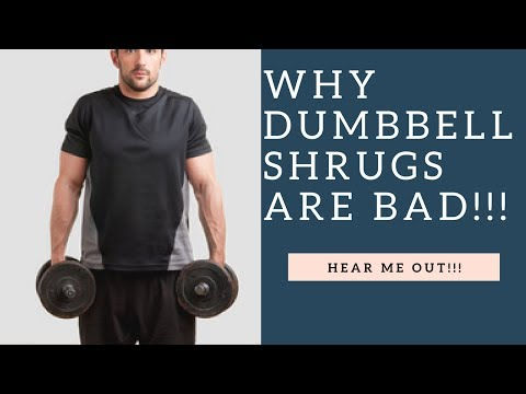 Why Dumbbell Shrugs Are A BAD Exercise (Hear Me Out!)