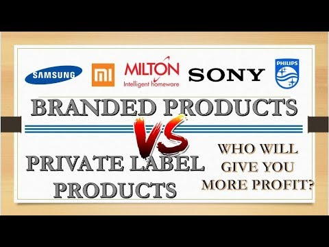 Branded Or Private Label. Which Products To Sell Online