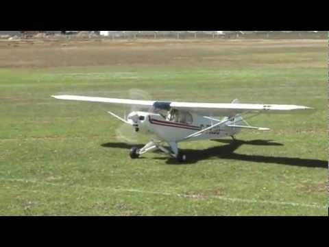 Test Flight of my 1/3 scale Balsa USA Piper Supercub