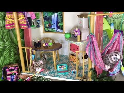 American Girl Doll Lea's Bedroom