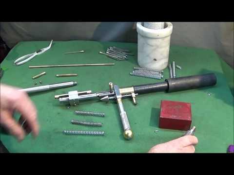 Simple Method Adjusting & Weakening A Compression Spring
