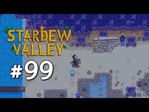 Getting the Mermaid's Pendant (Marriage Item) - Stardew Valley Playthrough, Part 99
