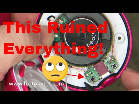 Beats Solo 2 Wired Speaker Repair From Start To Finish. Quick and easy!