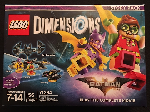 The Lego Batman Movie Story Pack Lego Dimensions Unboxing & Building