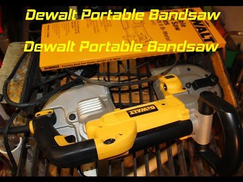 Dewalt Portable Bandsaw DWM120