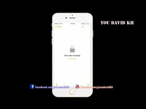 How to Reset Password Note On iPhone