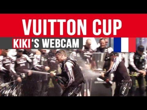 Coupe Louis Vuitton : Victoire de Team New Zealand | Kiki Karcher's Webcam