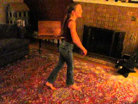 Dancing to City of Blinding Lights #2