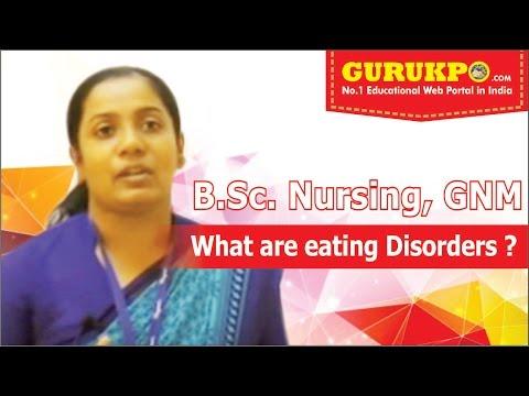 What are Eating Disorders (B.Sc Nursing) Mental Health Gurukpo