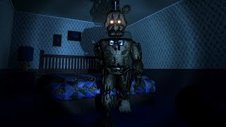 HUNTED BY THE NEW NIGHTMARE FREDDY.. | Five Nights At Freddy's 4 Unreal Engine 4 (FNAF)