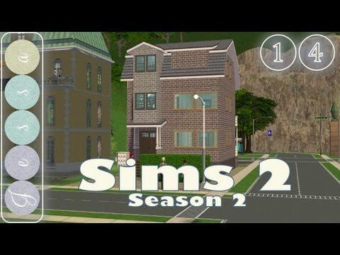 #❶❹ Sims 2 Let's Play, Season 2-14 ~ Decorating Deva Awrai's Apartment, Part 01