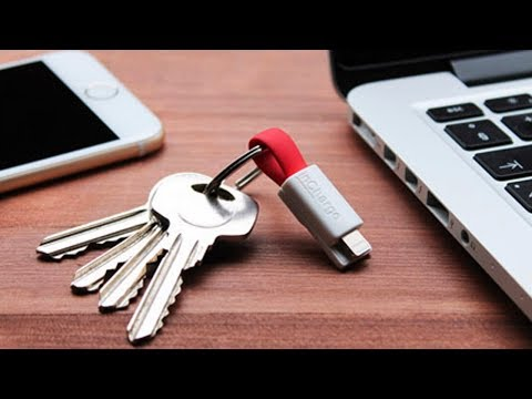 World's Smallest iPhone Charging Cable Fits On Your Key Chain!