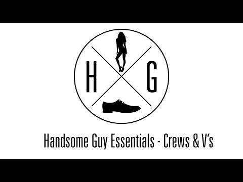 Handsome Guy Essentials (Shirts) - Crew & V-neck T-Shirts